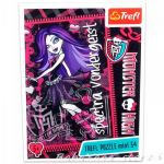 TREFL ПЪЗЕЛ за деца Монстър Хай (мини), Spectra Vondergeist Monster High (54 части) - 19335