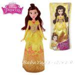 КУКЛА Бел от серията Дисни Принцеси, Disney Princess Royal Shimmer Doll Belle, B5287