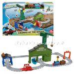 Thomas and Friends Игрален комплект Cranky at the Docks от серията Adventures, DVT13