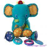 Bright Starts Мека играчка с дрънкулки BUNCH-O-FUN СЛОНЧЕ, 8814