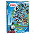 Занимателна игра Thomas & Friends, 2 игри в 1,Snakes & Ladders от Ravensburger, 21121