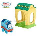 Забавна играчка-прожектор Thomas and Friends My First Get Up & Glow Thomas Night Light, FFX55