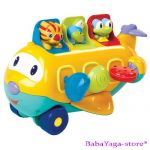 Bright Starts Музикална играчка САМОЛЕТ Peek-a-Zoom, 8981