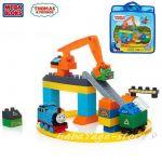 Mega Bloks Thomas & Friends Център за рециклиране с Томас, Sodor Wash Down, CNJ11