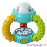 Bright Starts Музикална играчка СФЕРА Little Lights and Music Toy, 8978