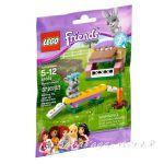 ЛЕГО ФРЕНДС Колибката на Зайчето, LEGO Friends Bunny's Hutch, 41022