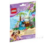 ЛЕГО ФРЕНДС Рая на КОСТЕНУРКАТА, LEGO Friends Turtle's Little Paradise, 41041