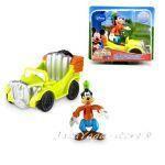 Фигурки за игра Гуфи с кола  от серията Clubhouse, Goofy Fisher Price, T3220
