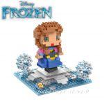 Конструктор мини Замръзналото кралство Анна, Micro block Anna Frozen
