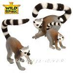 Фигурки животни семейство ЛЕМУР Eco-Dome Family, Wild Republic, 89306