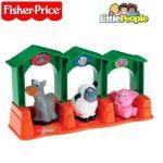 Fisher Price Играчка ФЕРМА с фигурки домашни животни, от серията Little People, M1764