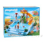 Playmobil City Life: Басейн, Pool with wather slide, 4858