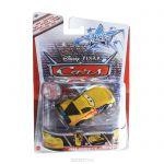 CARS Disney Pixar Количка Stunt Racer, Jeff Gorvette от Mattel, Y1303