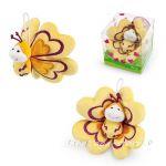 ПЕПЕРУДА Плюшена играчка мини от серията Sweet Collection на TRUDI, 52112