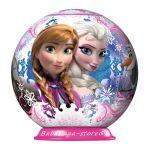 Ravensburger ПЪЗЕЛ 3D за деца топка  (54ч) Замръзналото кралство, Frozen, 11913