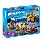 Playmobil Knights: Рицари на Ордена на Лъвовете, Knights Lion Knights Troop, 4871