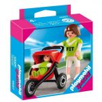 Playmobil Special: Фигурки Майка с количка и бебе, Mum with Jogger Stroller, 4697