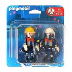 Playmobil City: Фигурки Пожарникари, Action Fire Rescue Squad Duo Pack, 4914