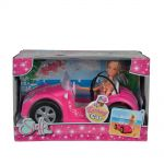 Simba КУКЛА Steffi Love с кабриолет, Beach car, 105738332