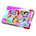 TREFL ПЪЗЕЛ за деца (100ч.) Очарователни Принцеси, Disney Princess Puzzle, 16339