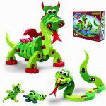 Bloco Пъзел EVA 3D ДРАКОНИ, Puzzle Dragons & Reptiles, 25001