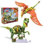 Bloco Пъзел EVA 3D ВЕЛОСИРАПТОР, Velociraptor & Pterosaur Dinosaur, 20001