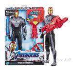Marvel Avengers Фигypa Железния човек със звуци, Titan Hero Power Fx Iron Man от Hasbro, E3298