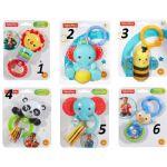 Fisher Price Дрънкалка - чесалка Животни, Rattles toys, DRC00
