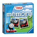 Занимателна игра Thomas & Friends, Мемори, Memory от Ravensburger, 21062
