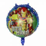 Детски Балон Кръг Железният човек (45см.), Balloon Ironman