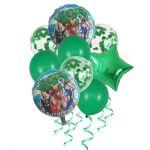 Детски Балони Букет с конфети ОТМЪСТИТЕЛИТЕ (9бр.), Balloons Bouquet Confetti Avengers