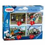 Ravensburger Thomas & Friends: puzzle 4in1, 069378