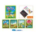 Вълшебна книжка за рисуване с вода Животните, Magic water coloring book Animals