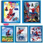Вълшебна книжка за рисуване с вода Спайдърмен, Magic water coloring book Spider Man