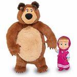 Маша и Мечока: Кукла Маша и Плюшен Мечок (25см), Simba Masha and the Bear, 109301072