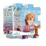 Мек пъзел за под Замръзналото кралство 118х60 см., Trefl Foam puzzle Frozen (8pcs.), 61367