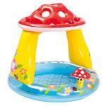 Детски надуваем басейн със сенник Гъбка 102x89 cm., Intex Inflatable Mushroom Baby Pool, 57114