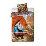 Спален комплект Томас и Приятели 140х200 см., Bed set Thomas and Friends Minis, 2 части,