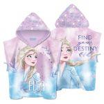Хавлия ПОНЧО Замръзналото кралство - Елза, Frozen Elsa girls' poncho towel with hood, 136330