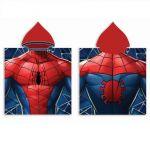 Хавлия ПОНЧО Спайдърмен, Spiderman boy's poncho towel with hood, 588244