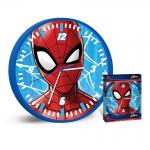 Стенен часовник за детска стая Спайдърмен 25cm., Disney Spiderman wall Clock, 503291