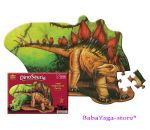 Wild Republic Пъзел с нестандартна форма Stegosaurus - 64586