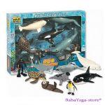 Комплект фигурки за игра ECO-EXPEDITION - животните в ОКЕАНА на Wild Republic