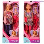 КУКЛА Steffi Love Стефи бременна (2 вида), Pregnant Doll, Simba toys 105734000