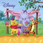 Мека книжка за баня Disney, Bath baby book, Happy Birthday, 40B