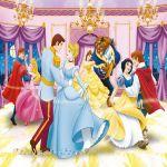 Ravensburger ПЪЗЕЛ за деца с героите на  Дисни (300ч.) Танцуващи принцеси - 131273