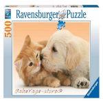 Ravensburger ПЪЗЕЛ за деца (500ч.) Голяма целувка - 141722