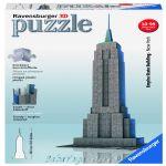 Ravensburger 3D ПЪЗЕЛ Световни забележителности: Емпайър Стейт Билдинг, Empire State Building, 125531