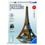 Ravensburger 3D ПЪЗЕЛ Световни забележителности: Айфелова кула, Eiffel Tower, 12556