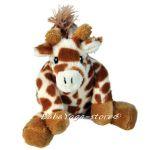 7361 Дрънкалка плюшена ЖИРАФ Baby Rattle Giraffe, CloudB